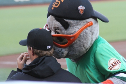 A Tender Smooch For Matt Cain