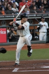 Buster Posey at bat