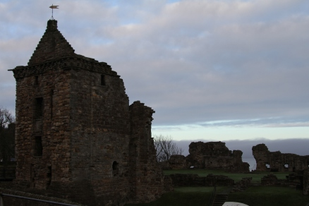 St. Andrews Castle Ruins