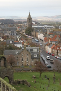 View of St. Andrews, from St. Rules Tower