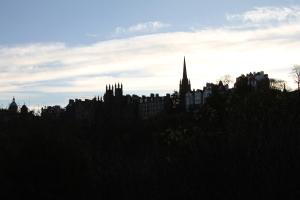 View from Princess Street Gardens, Edinburgh