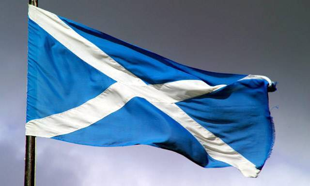 Scottish National Flag