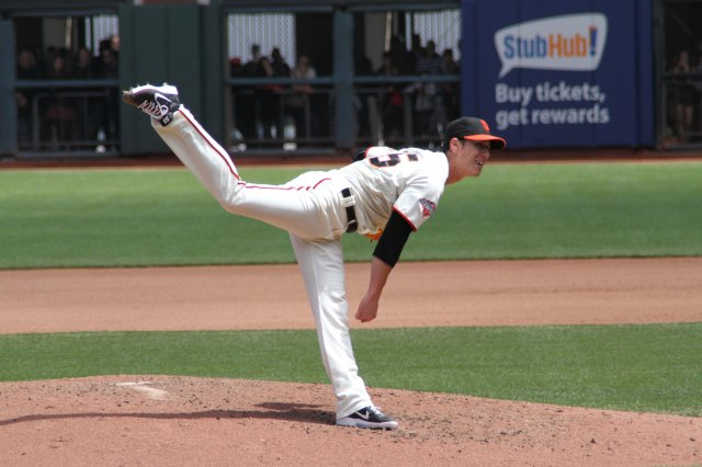 Tim Lincecum, San Francisco Giants vs. Chicago Cubs 7/28/13