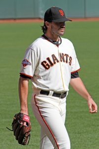 San Francisco Giants pitcher Barry Zito prepares to take the mound at AT&T Park, September 29, 2013
