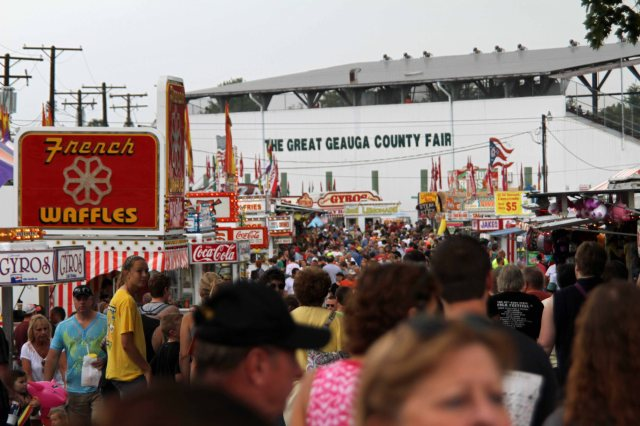 The Great Geauga County Fair, September 2013.  Ohio's oldest continuous county fair.