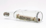 Resume inside a bottle.