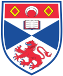 The University of St. Andrews coat of arms