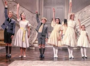 "Photo of Von Trapp children singing ""So Long, Farewell"", Rodgers and Hammerstein's The Sound of Music"