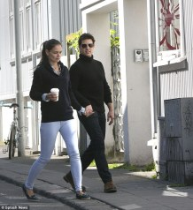 Walking hand-in-hand Tom Cruise and wife Katie Holmes are pictured walking through the streets of Reykjavic in what is believed to be the last photograph of the couple together. Holmes filed for divorce two weeks later.