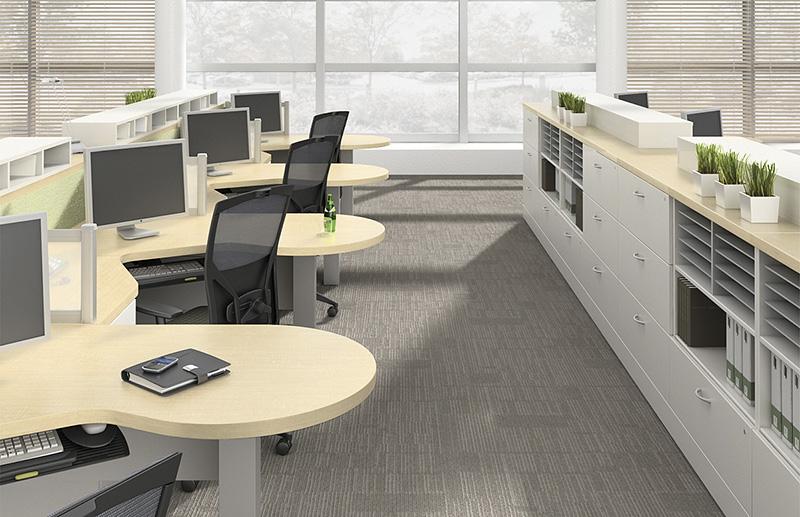 Office Cubicles In Write Field