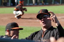 Former San Francisco Giants first baseman, turned front office man, Will the Thrill Clark talks to fans.