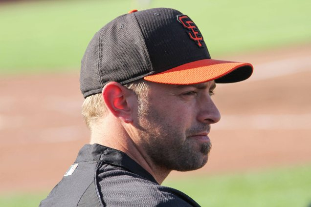 San Francisco Giants reliever Jeremy Affeldt, Spring Training, Scottsdale AZ. March 15, 2014.