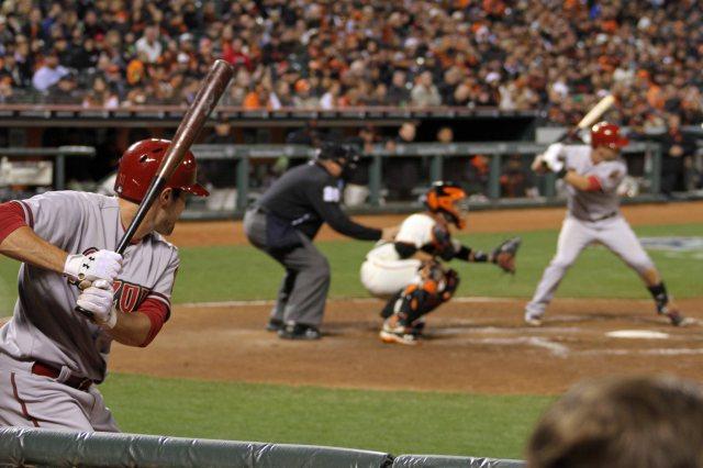 San Francisco Giants vs. Arizona Diamondbacks, April 10, 2014. AT&T Park. San Francisco, CA.