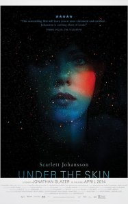 "Movie poster for 2014 film ""Under the Skin"""