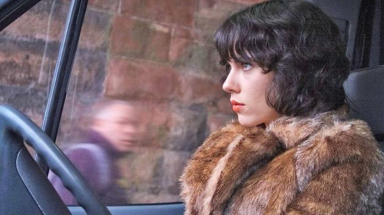 "Promotional still from the 2014 film ""Under the Skin"" starring Scarlett Johansson"