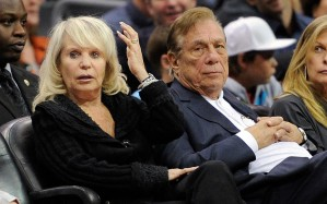 LA Clippers owners Donald and Rochelle Sterling