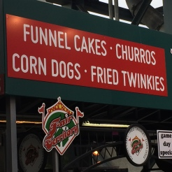 Concession stand at Safeco Field. Seattle, WA. (June 27, 2014)
