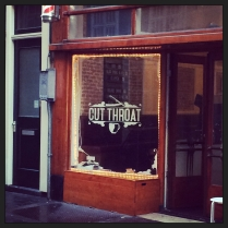 Cut Throat barber shop, Amsterdam, the Netherlands
