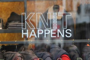 Clothing shop Knit Happens in Utrecht, the Netherlands