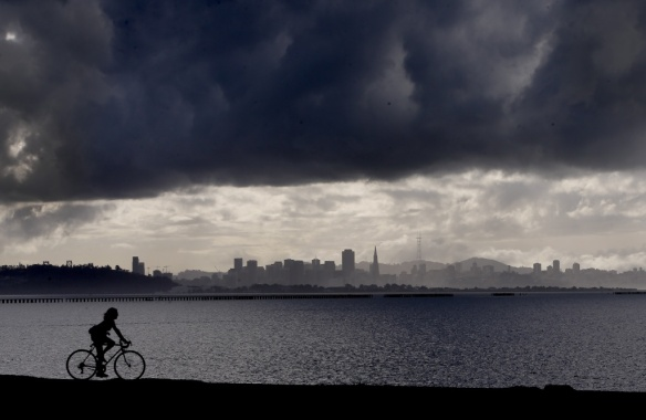 Image of the Bay Area Storm, December 11, 2014.