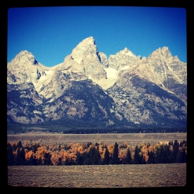 Grand Teton National Park. Jackson, Wyoming.