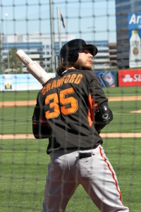 SF Giants shortstop Brandon Crawford