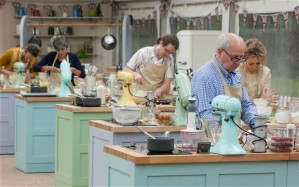 A set photo from the Great British Baking Show