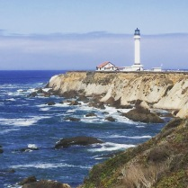 Point Arena Lighthouse. Point Arena, California.