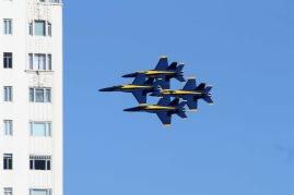 United States Navy Blue Angels. San Francisco Fleet Week 2015.