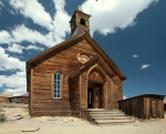 The church at Bodie California State Park.