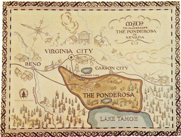 Ponderosa map